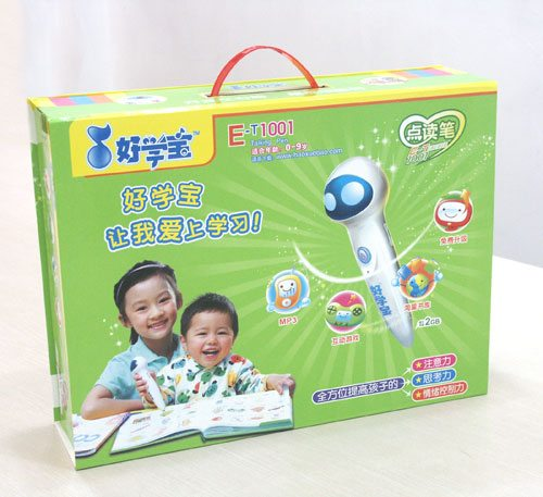 e-talking pen box