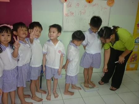 students of tadika sri kandi