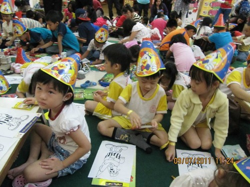 Sri Kandi Kindergarten Kids Fun Zone Karnival 2011