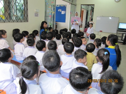 Tadika Sri Kandi Activity Dental Care for children