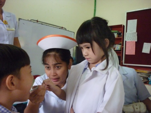 Tadika Sri Kandi Activity Dental hygiene role play