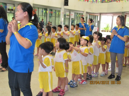 Sri Kandi school song, Xiao Tian Shi